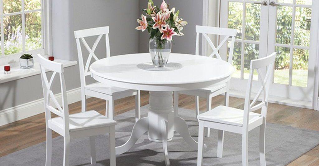 انواع شکل میز ناهارخوری