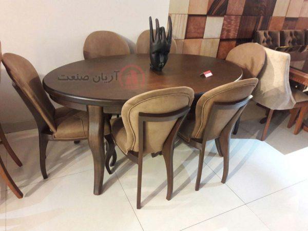 صندلی چوبی تینا ، میز چوبی تینا