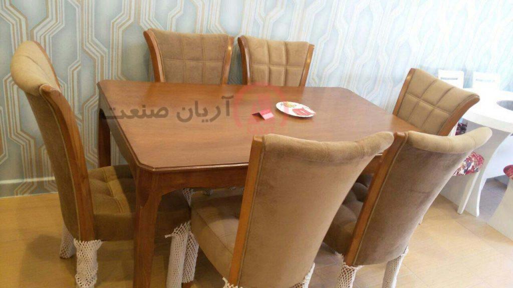 صندلی چوبی سون ، میز چوبی النا