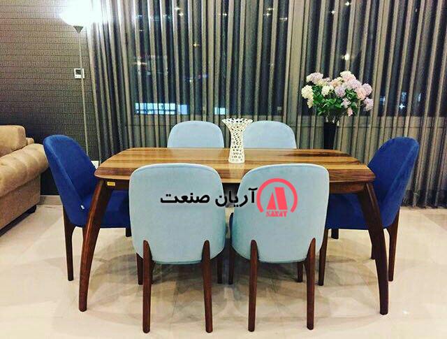 صندلی چوبی باران ، میز چوبی خرچنگی