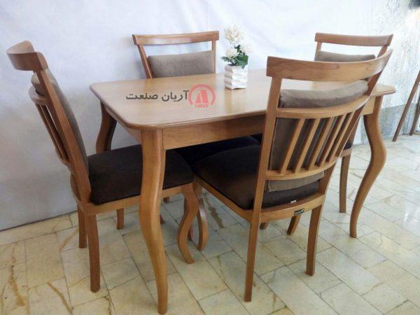 صندلی چوبی الیزه ، میز چوبی الیزه