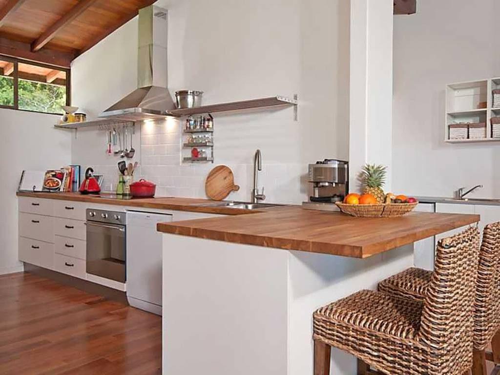 استفاده از آشپزخانه به شکل L