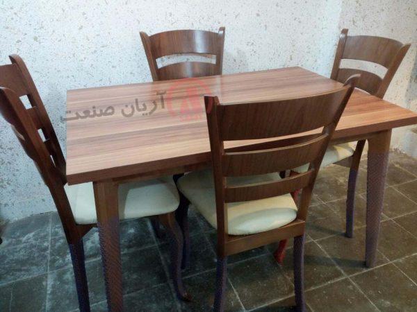 صندلی چوبی آلاله ، میز چوبی آلاله