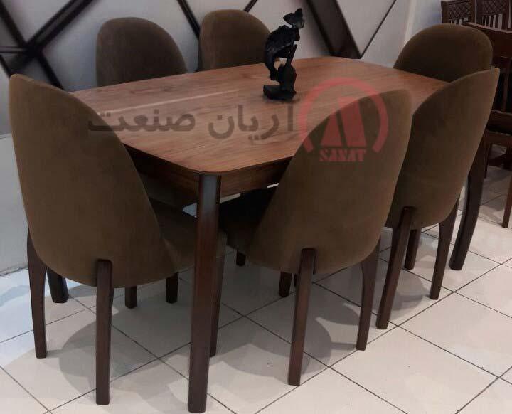 صندلی باران ، میز خرچنگی باران 6 نفره