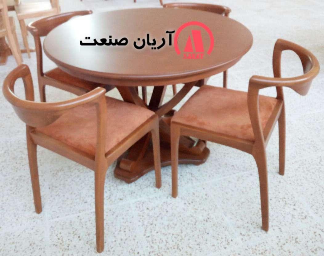 میز ناهارخوری تمام چوب جدید