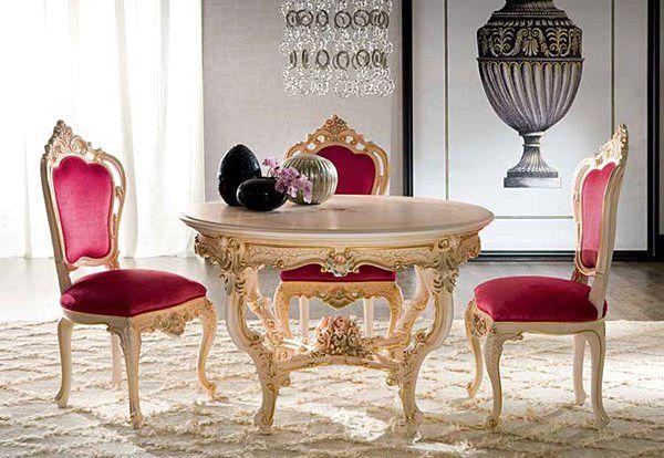 ترکیب طلایی و قرمز در سبک سلطنتی