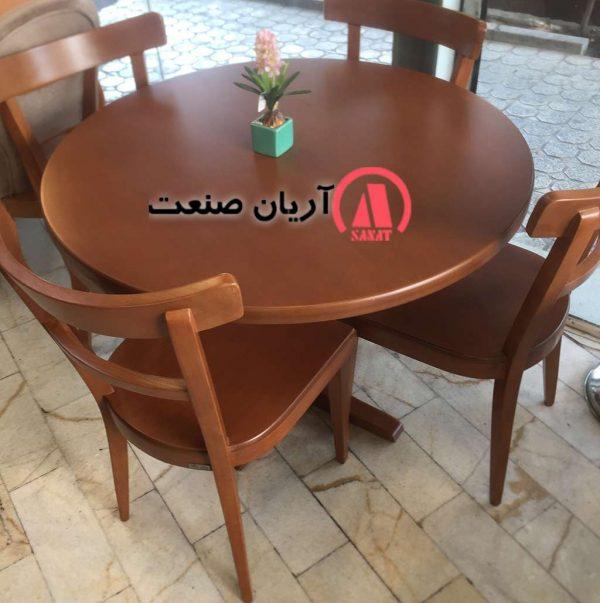 میز ناهارخوری تمام چوب راش گرجستان