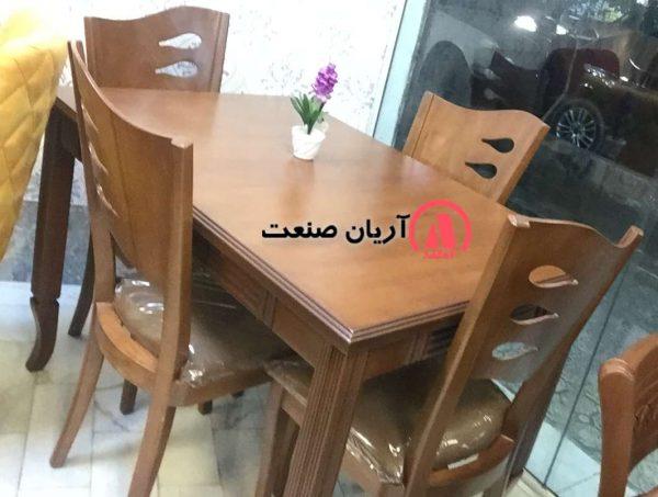 صندلی چوبی ، میز ناهارخوری چوبی