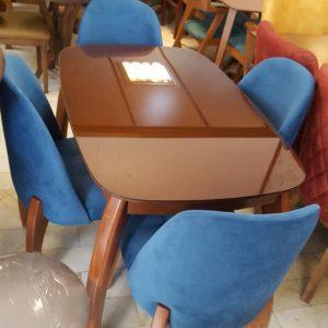 میز ناهارخوری چوبی ، میز ناهارخوری مدرن