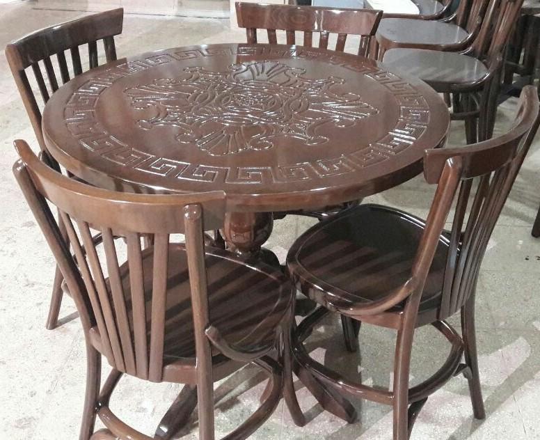 صندلی چوبی طرح لهستانی