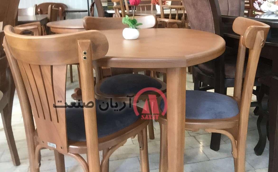 صندلی لهستانی راش گرجستان ، میز سه گوش