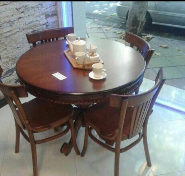 صندلی لهستانی و میز گرد