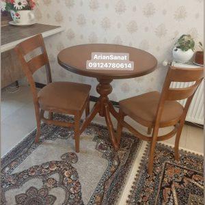 میز ناهارخوری چوبی