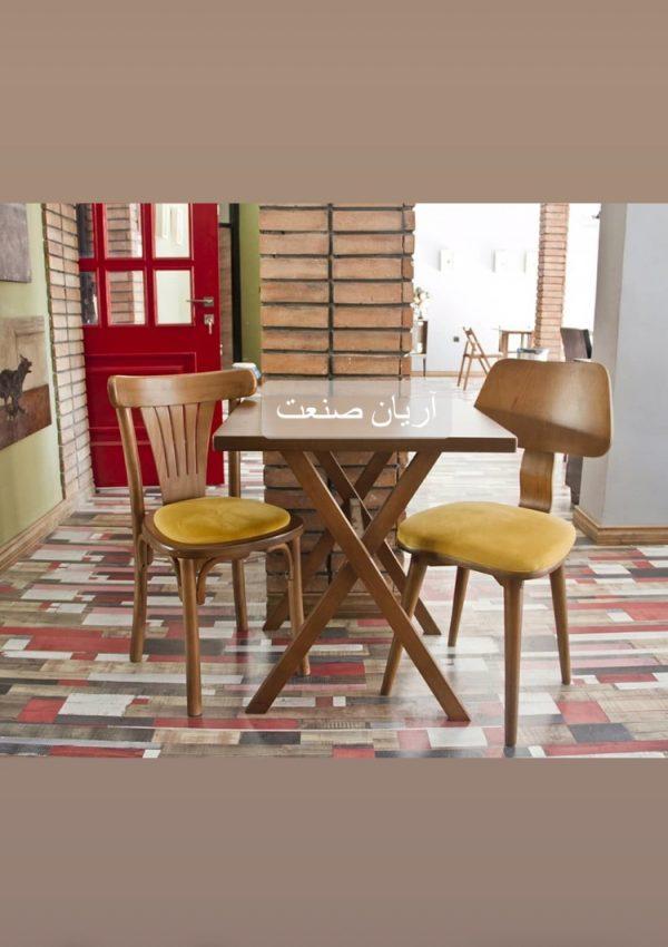 صندلی چوبی نوآ