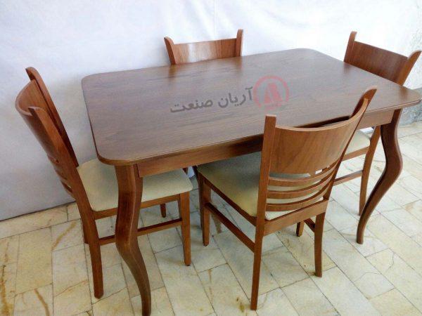 صندلی چوبی شب بو ، میز چوبی الیزه