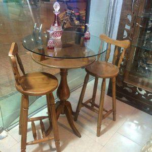 صندلی اپن خرگوشی ، میز گلدانی بلند