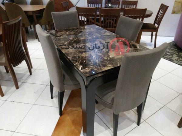 صندلی چوبی اتللو ، میز چوبی بوگاتی