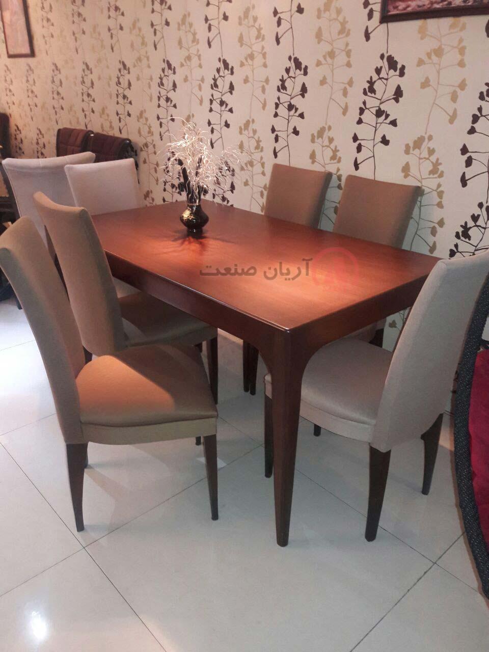 صندلی چوبی اتللو ، میز ناهارخوری چوبی اتللو
