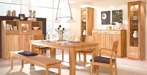 مراقبت و تمیز کردن میز ناهارخوری چوبی