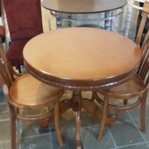 صندلی چوبی ، صندلی لهستانی ، میز گرد